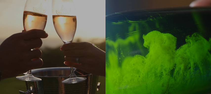 Sparkling Wine Video
